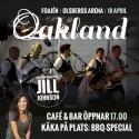 Oakland värmer upp inför Jill